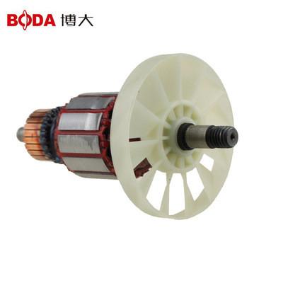 博大电动工具原装配件S234/9420螺纹转子全铜电机长砂光机附件