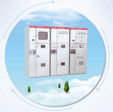 博控10KV环网柜 SF6柜 HXGN-12 充气柜 电缆分支箱